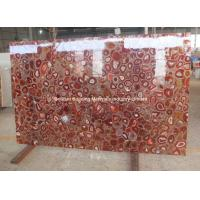 Wholesale Red Agate Semiprecious Stone Slab from china suppliers