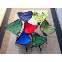 Wholesale Multifunction Outdoor Folding Beach Chair Stool Red / Folding Camping Chairs from china suppliers