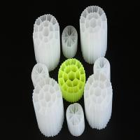 Buy cheap White Color MBBR Pond Biocell Filter Media Virgin HDPE Material And Floating For RAS from wholesalers