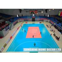 Wholesale Plastic Outdoor Badminton Court Surface / Eco - Friendly Futsal Court Flooring Playing Surfaces from china suppliers
