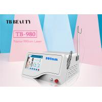 Wholesale 10W - 30W 980 nm Diode Laser Vascular Therapy Machine / Spider Vein Removal Machine Face Body from china suppliers