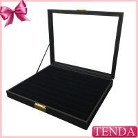 Wholesale Lockable Jewellery Organiser Collector Jewelry Dividers Ring Earrring Storage Jewelry Organizing Trays with PVC Window from china suppliers