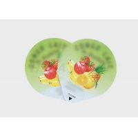 China Paper BRCS Adhesive Food Labeling Stickers for yogurt candle on sale