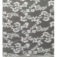 Wholesale White Eco - Friendly Dyeing Nylon Lace Fabric Light Net Mesh Small Flower Lady Dress from china suppliers