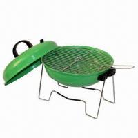 Wholesale Charcoal Barbecue Grill with 0.7mm Steel Plate Thickness, Measures Ø35.5 cm from china suppliers
