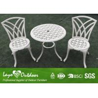 Wholesale ISO9001 Certification Modern Design Patio Outdoor Furniture Casting Table And Chairs 3pcs Per Set from china suppliers
