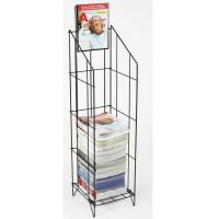 Wholesale Wire Magazine Display Racks For Gocery Stores with Chrome Plating from china suppliers