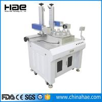 Wholesale 220V / 110v Fiber Laser Marking Machine , Small Portable Laser Etching Machine from china suppliers
