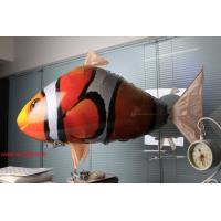 Wholesale HOT Sale Remote Control Rlying Shark Electric Fish RC Fishing Plastic Inflatable Blimp from china suppliers