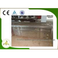 Wholesale 2.2m Teppanyaki Grill Table Electric Tube Heaters Fume Down Exhaust Multi Function from china suppliers