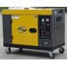 Buy cheap 7kva New Type Silent Diesel Generator , Single Cylinder Diesel Generator from wholesalers