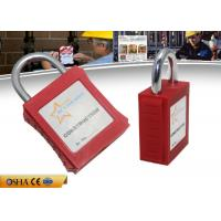 Wholesale ZC-G101 ABS Xenoy Safety Lockout Padlocks 20 Mm Mini Steel Shackle from china suppliers