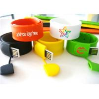 Wholesale Silicone Wristband USB Flash Drive Personalized with OEM Logo from china suppliers
