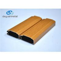 Wholesale Wood Grain Aluminum Extrusion Profile For Decoration Alloy 6063-T5 / T6 from china suppliers