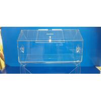 Wholesale Rotating Acrylic Lottery Drum Lucite Game Display Box Eco-Friendly from china suppliers