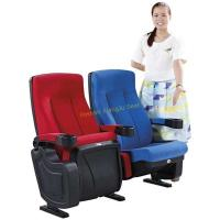 Wholesale High Back Reclined Home Cinema Theater Chairs With Fireproof Fabric from china suppliers