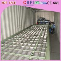 Wholesale 1 ~ 12 MT Daily Capacity Container Industrial Ice Block Making Machine For Supermarkets from china suppliers