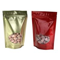 Wholesale Composite Resealable Stand Up Pouches With Window PA + PE / OPP / CPP / PET / VMPET from china suppliers