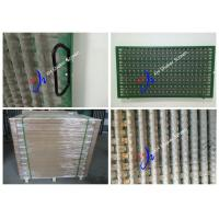 Wholesale API Approve SS316 1070 * 570 mm Shale Shaker Screen For Solid Control from china suppliers