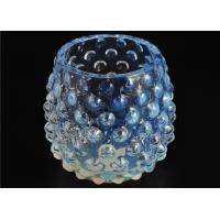 Wholesale Votive Handmade Glass Candle Holders Colored 530Ml Capacity Elegant from china suppliers