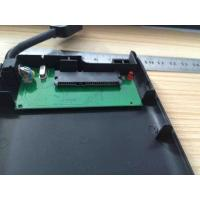 Wholesale Plastic Play And Plug 2.5 Hard Drive Enclosure Built In Cable , JMS578 IC Chipset from china suppliers