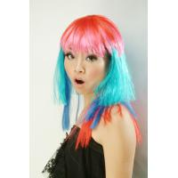 Wholesale Custom Fashionable Artificial Natural Straight Lady Sports Fan Wigs from china suppliers