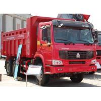 Wholesale Heavy Duty dump Truck HOWO 6x4 tipper truck 20tons red color cabin overloading Capacity from china suppliers
