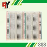Wholesale Bigger Soldering Breadboard 3 Distribution Strips With Lines Color Printed from china suppliers