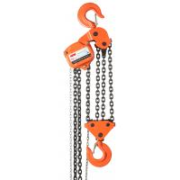 Wholesale 10T Manual Chain Block Orange Steel For Warehouse Lifting Use from china suppliers