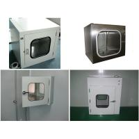 Wholesale Clean Room Equipment Precision Stainless Steel Pass Box With UV Light from china suppliers
