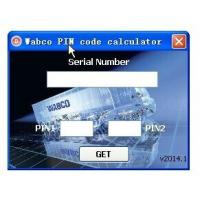Wholesale Wabco Diagnostic PIN/PIN2 Calculator with Keygen from china suppliers
