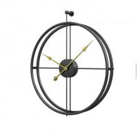 Wholesale Large Double Circular Metal Round Fashion Modern Simple Design Wall 3d Clock 60cm  decorative wall clock, from china suppliers