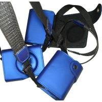 Blue Shoulder Digital Camera Pouches , Carrying Case Pouch For Camera