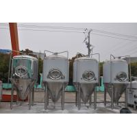 Wholesale Craft Beer Brewery Fermentation Equipment Beer Brewery Tanks 1.5~3.0mm Thickness from china suppliers