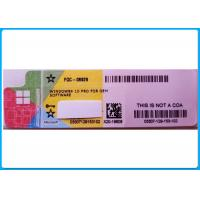 Wholesale Microsoft Windows Softwares Label Activation Coa Sticker Pro from china suppliers