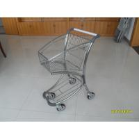 Wholesale Free duty shop 40L Supermarket Shopping Trolley / Carts , Airport Shopping Trolley from china suppliers
