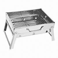 Wholesale Portable BBQ Grill/Mini Portable Charcoal BBQ Grill, Made of Stainless Steel from china suppliers