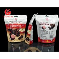 Wholesale Custom Order Shaped Pouches with Zipper for Juice Candy / Chocolate from china suppliers