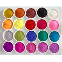 Wholesale Customized High Purity Non Toxic Cometic / Makeup Glitter Iron Oxide Pigments /PET Glitter Pigment from china suppliers