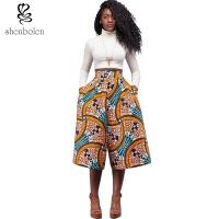 Wholesale Wide Leg African Print Baggy Harem Pants , African Print Trousers For Ladies from china suppliers