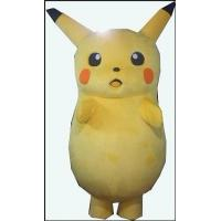 Wholesale Handmade Cartoon Character Cute Pikachu Mascot Costume for Kids from china suppliers