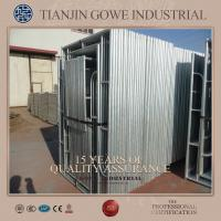 Wholesale Steel Galvanized quick scaffold systems / tubular welded frame scaffold from china suppliers