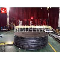 Wholesale Artistic Rotating And Lifting Stage Q195 Steel Adjustable Stage Platform from china suppliers