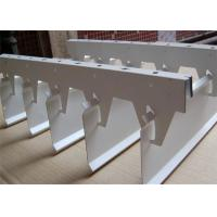 Wholesale Powder / Paint Coated Aluminium Strip Ceiling For Shopping Mall from china suppliers