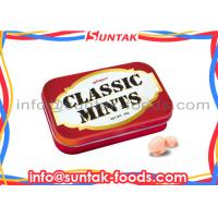 Wholesale Classic Fresh Breath Mints Dextrose Candy , Hot Chewable Ginger Tablets from china suppliers