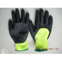 Wholesale Custom XL Sandy Finished Durable Warm Winter Gloves With Nitrile Coated from china suppliers
