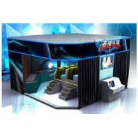 Wholesale 6 / 8 / 9 / 12 Seat VR 9D Action Cinemas With Multiple LED Display Screens from china suppliers