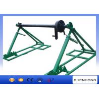 Wholesale SIPZ Series Integrated Cable Drum Jacks With Disc Tension Brake from china suppliers