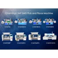 Wholesale Charmhigh SMD Pick and place Machine , smt placement machine 8 Models Prototyping from china suppliers