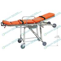 Wholesale Comfortable folding wheelchair ambulance stretcher lifts for transporting patients from china suppliers